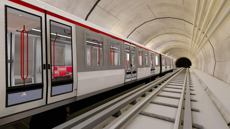 Extension du métro B